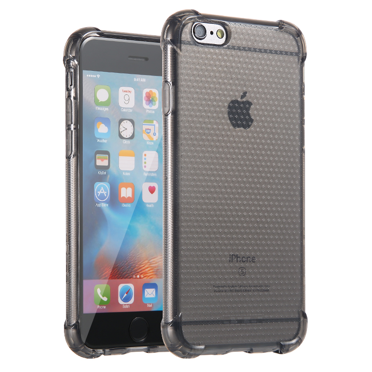 Lensun Anti-Shock Case Cover For iPhone 6 6s - Black