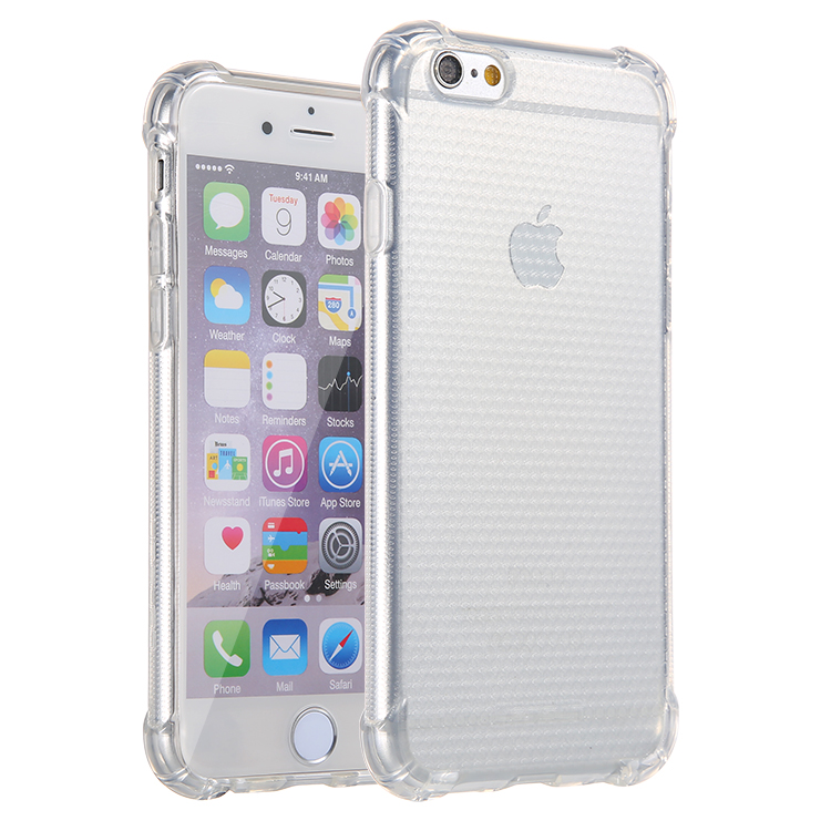Lensun Anti-Shock Case Cover For iPhone 6 6s - Clear