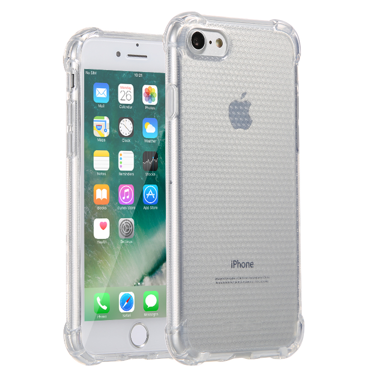Anti-Shock Lensun Case Cover For iPhone 7 - Clear