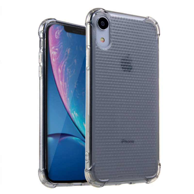 Lensun Anti-Shock Case Cover For iPhone XR - Black