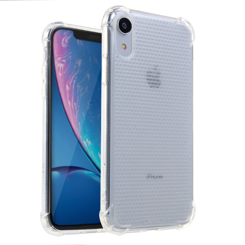 Lensun Anti-Shock Case Cover For iPhone XR - Clear