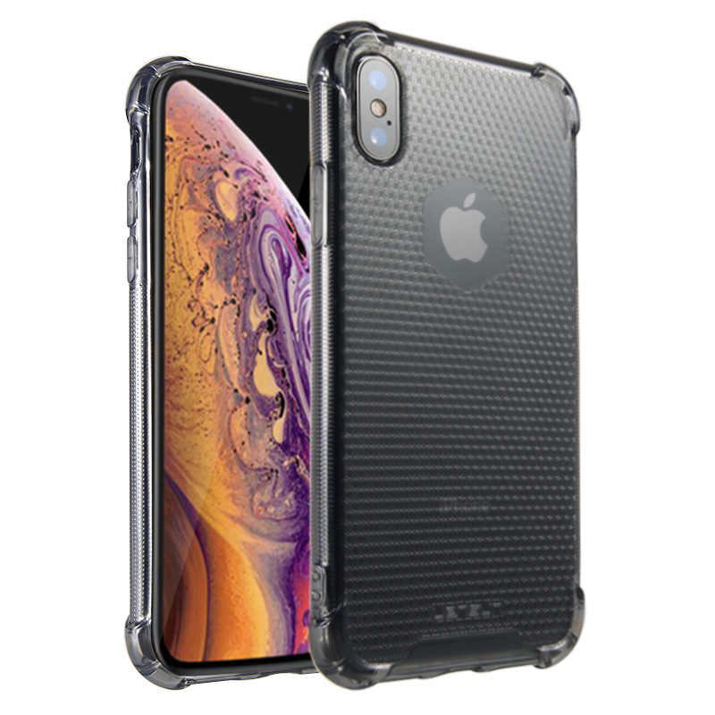 Lensun Anti-Shock Case Cover For iPhone XS - Black