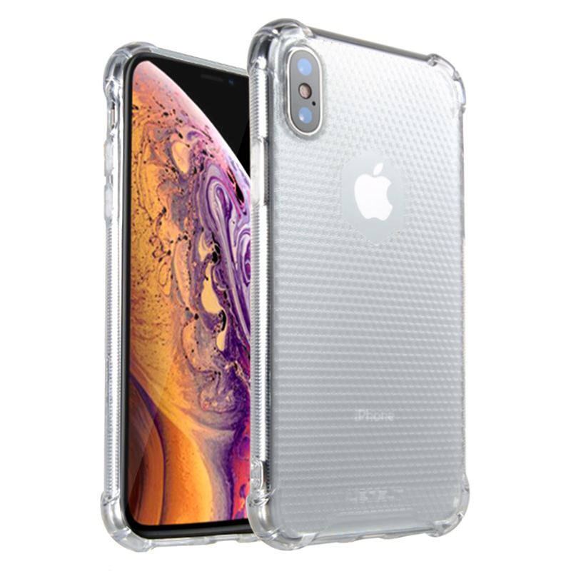 Lensun Anti-Shock Case Cover For iPhone XS - Clear