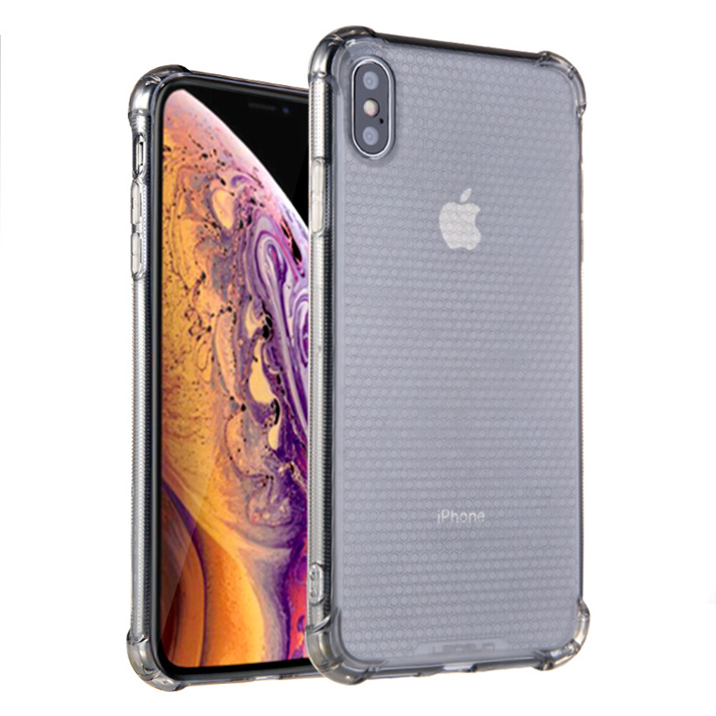 Lensun Anti-Shock Case Cover For iPhone XS MAX - Black