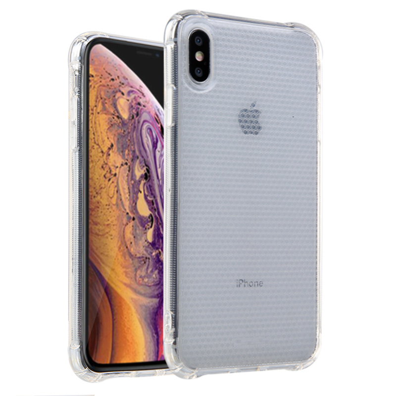 Lensun Anti-Shock Case Cover For iPhone XS MAX - Clear