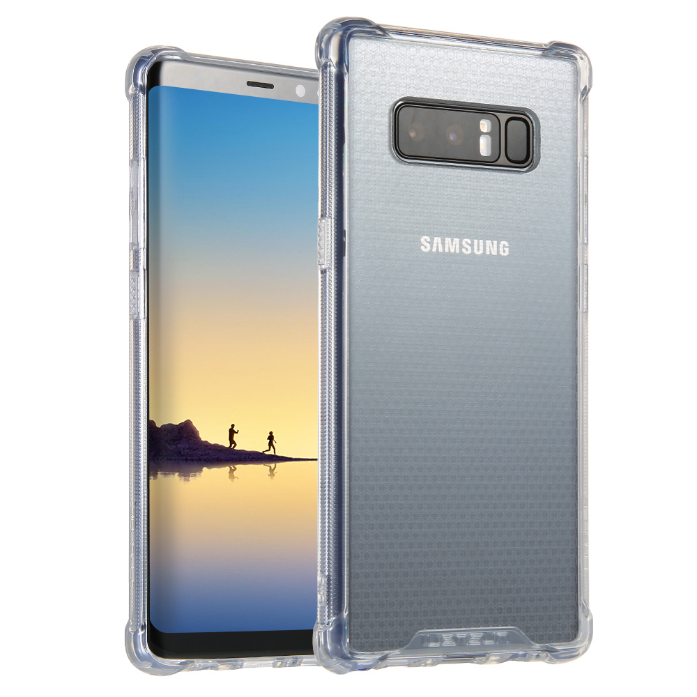 Anti-Shock Lensun Case Cover For Samsung Galaxy Note 8 -Clear