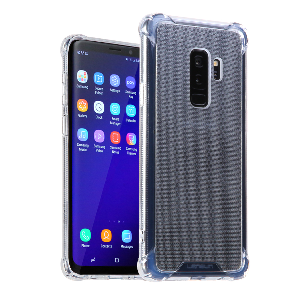 Anti-Shock Lensun Case Cover For Samsung Galaxy S9 - Clear