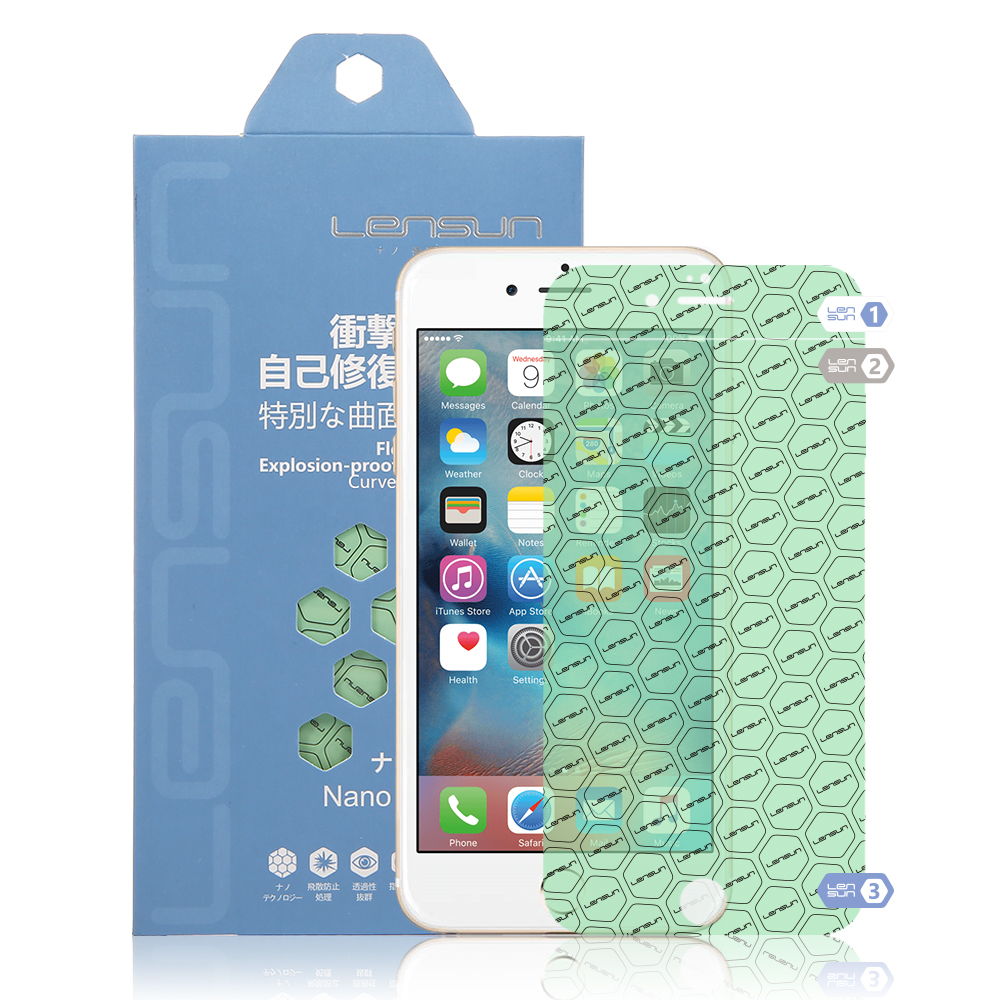 Lensun Self-Restore Nano Screen Protector For iPhone 6 Plus /6s Plus