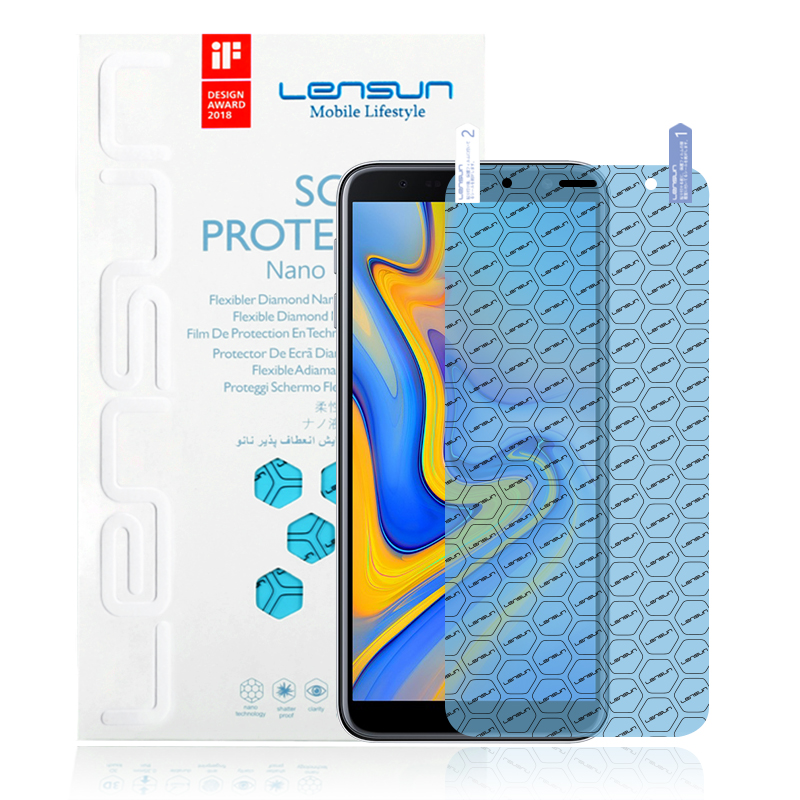 Lensun Explosion-Proof Nano Screen Protector For Samsung J6 Plus