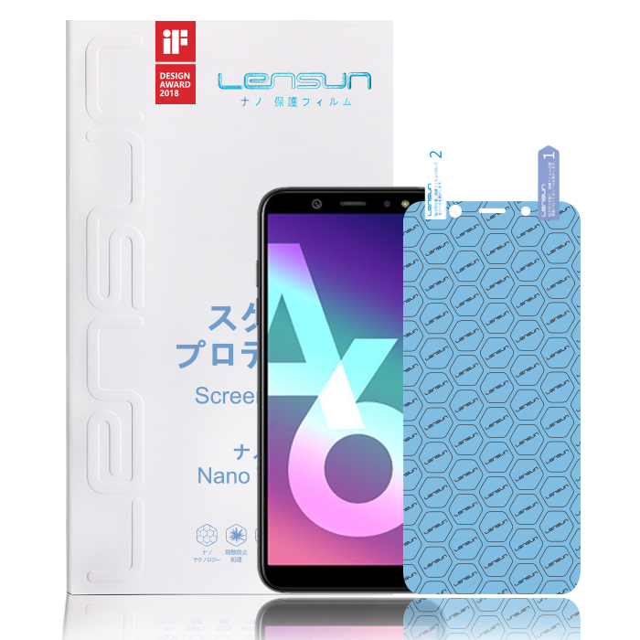 Lensun Explosion-Proof Nano Screen Protector For Samsung A6 2018